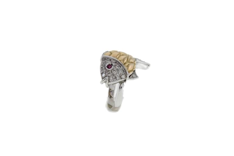 Luise Diamonds Ruby Cocktail Ring 2