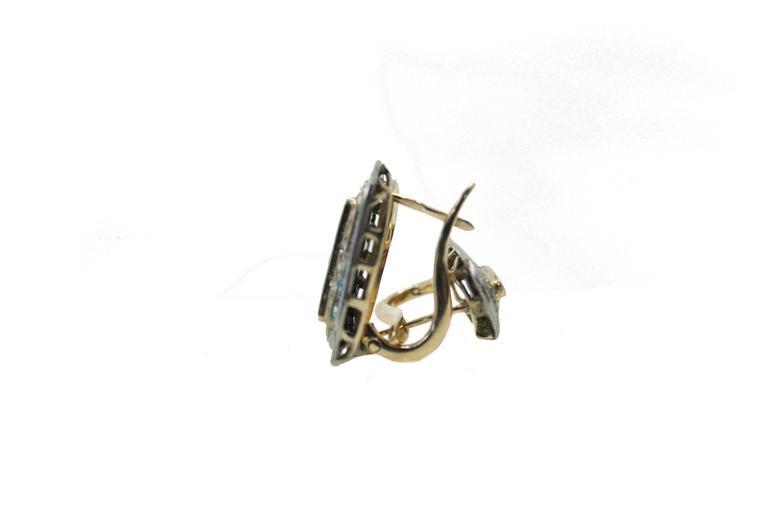 Diamond Ruby Earrings 3