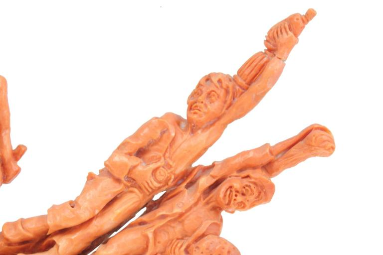 Luise Coral Stone Sculpture For Sale 3