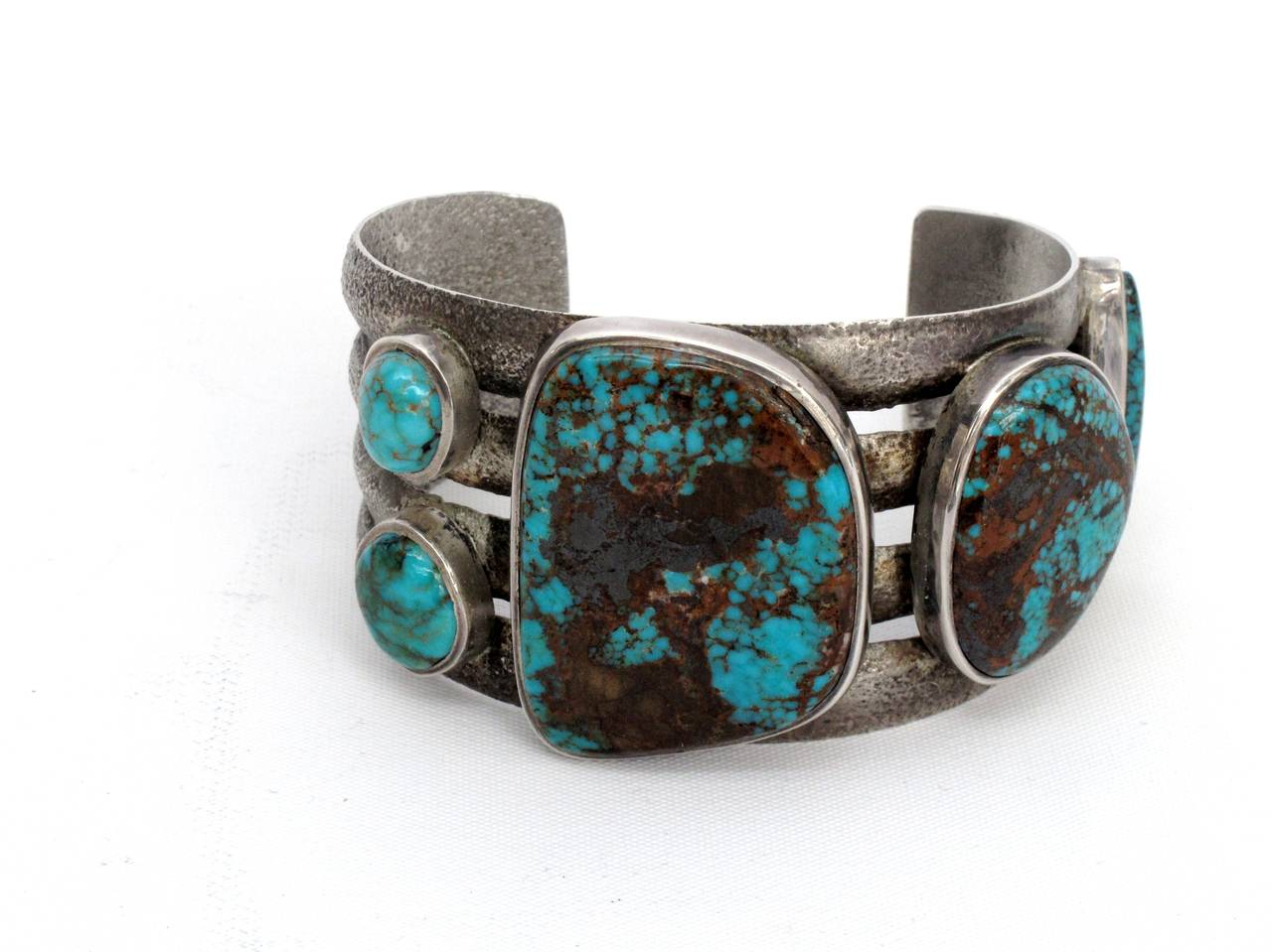 charles loloma jewelry charles loloma tufa turquoise cast silver bracelet at 1stdibs 1192