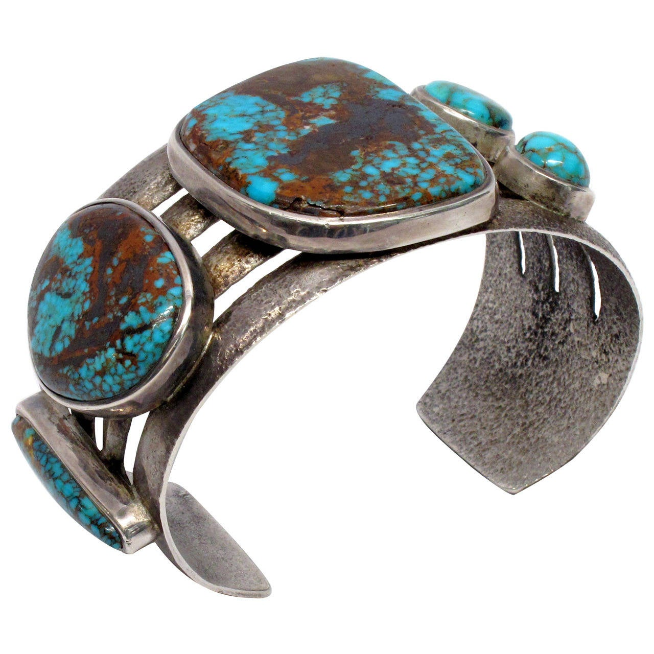 charles loloma jewelry charles loloma tufa turquoise cast silver bracelet at 1stdibs 6558