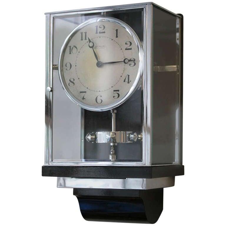 Jaeger Lecoultre Atmos Pendule Perpetuelle Wall Clock