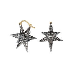Merkaba Dormeuse Earrings