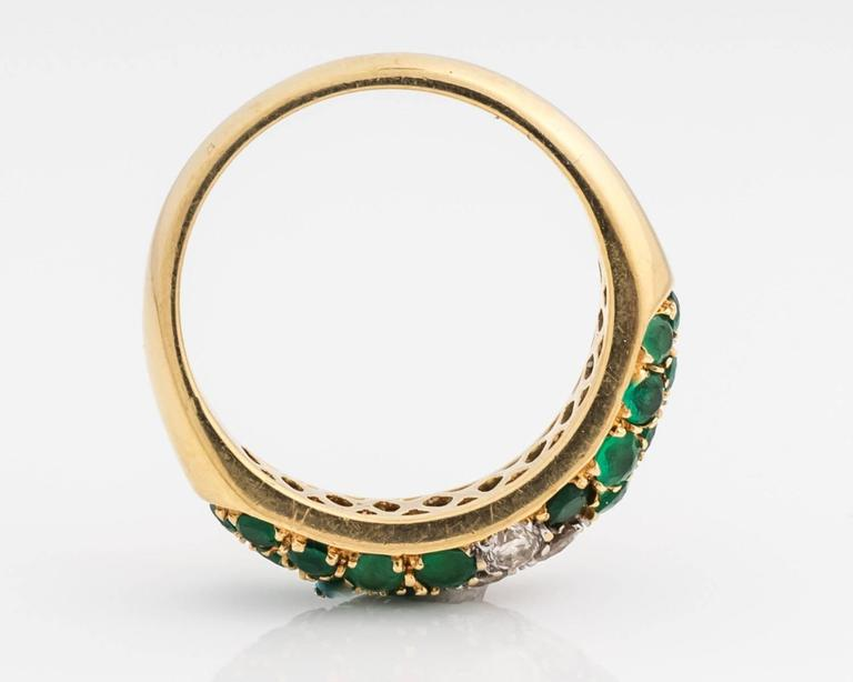 1980s columbian emerald and ring at 1stdibs
