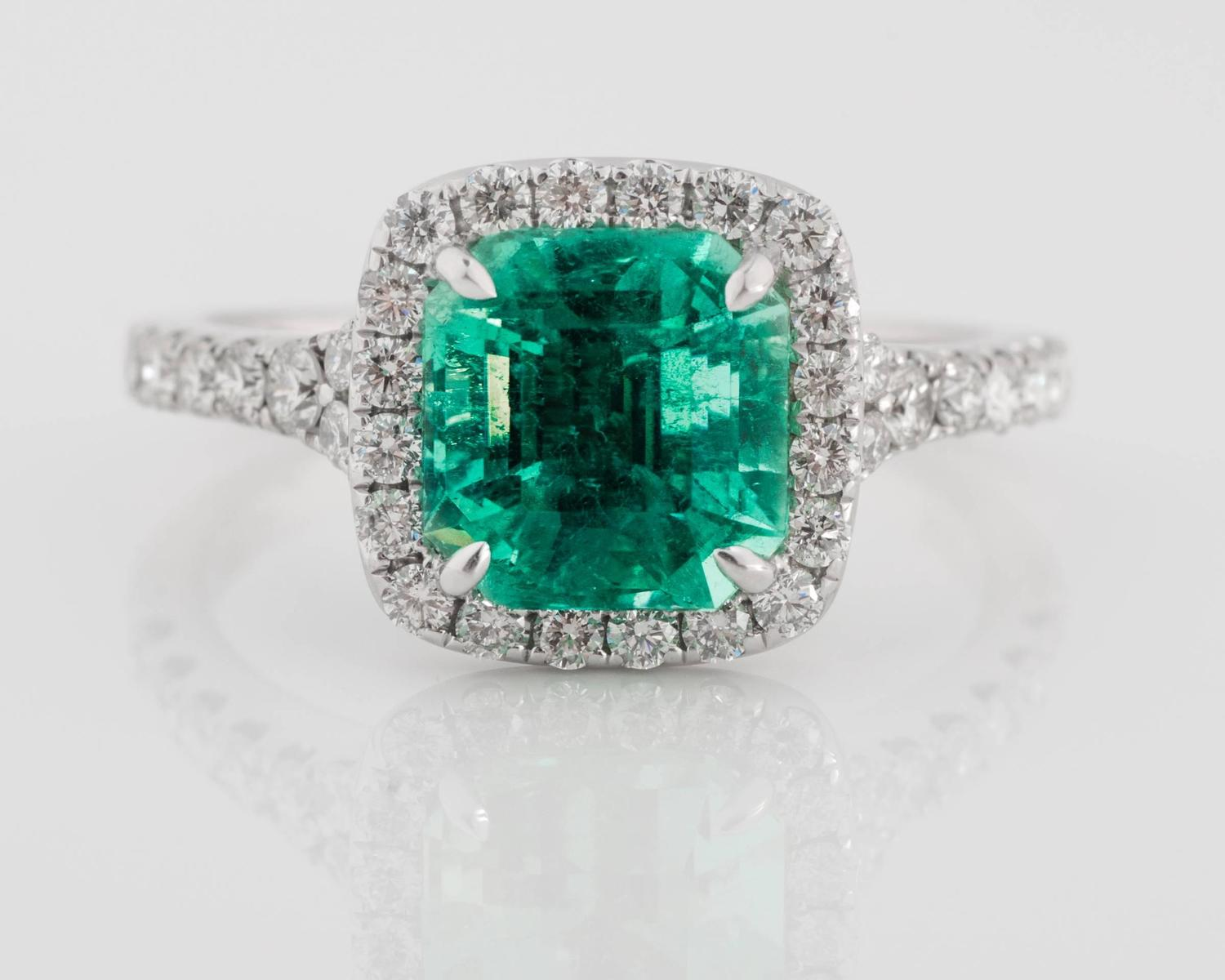 columbian emerald and ring for sale at 1stdibs