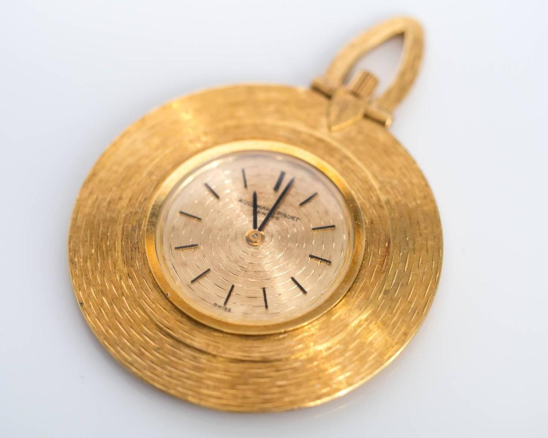 audemars piguet yellow gold automatic movement pocket