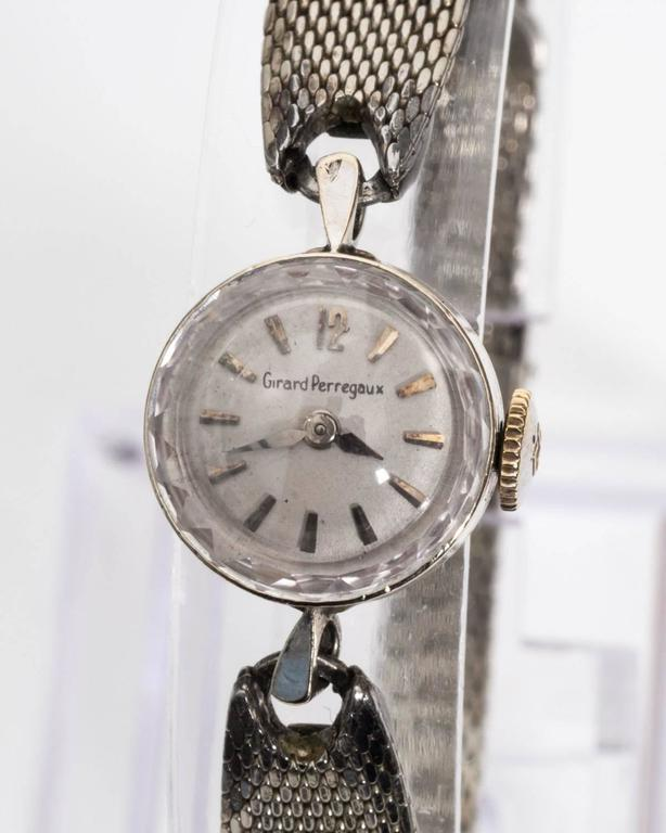 1960s Girard Perregaux Wristwatch In Good Condition For Sale In New York, NY