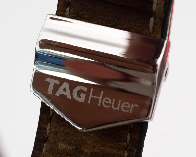 Tagheur Monaco Stainless Steel Wristwatch 7