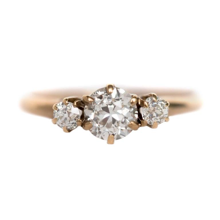 .50 Carat Diamond Yellow Gold Engagement Ring