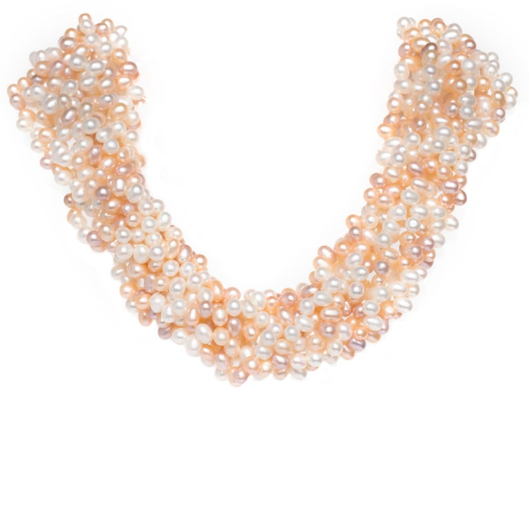 Yellow Gold Tiffany & Co. Pearls by Paloma Picasso