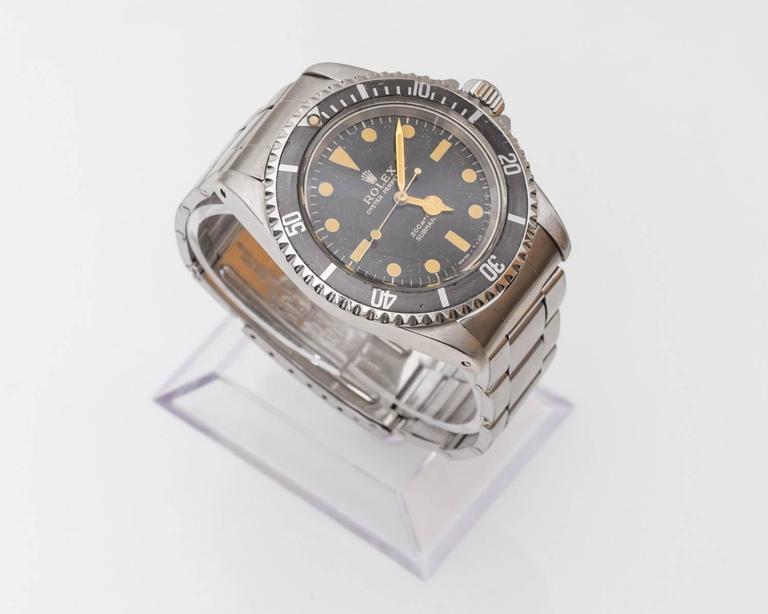 Rolex 5513 Matte Submariner Watch For Sale 1