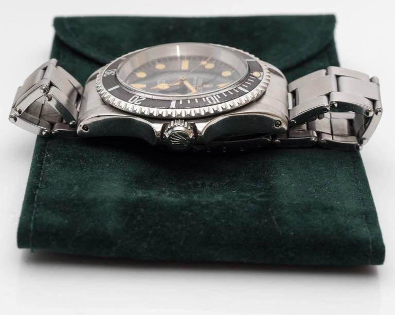 Rolex 5513 Matte Submariner Watch For Sale 4