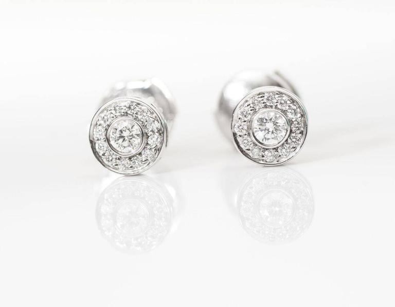 Tiffany & Co. Mini Circlet Earrings For Sale 2