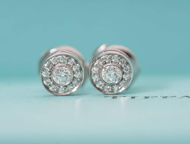 Tiffany & Co. Mini Circlet Earrings In Excellent Condition For Sale In New York, NY
