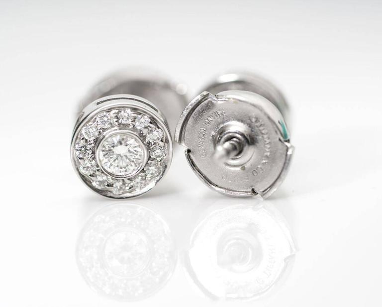 Tiffany & Co. Mini Circlet Earrings For Sale 1