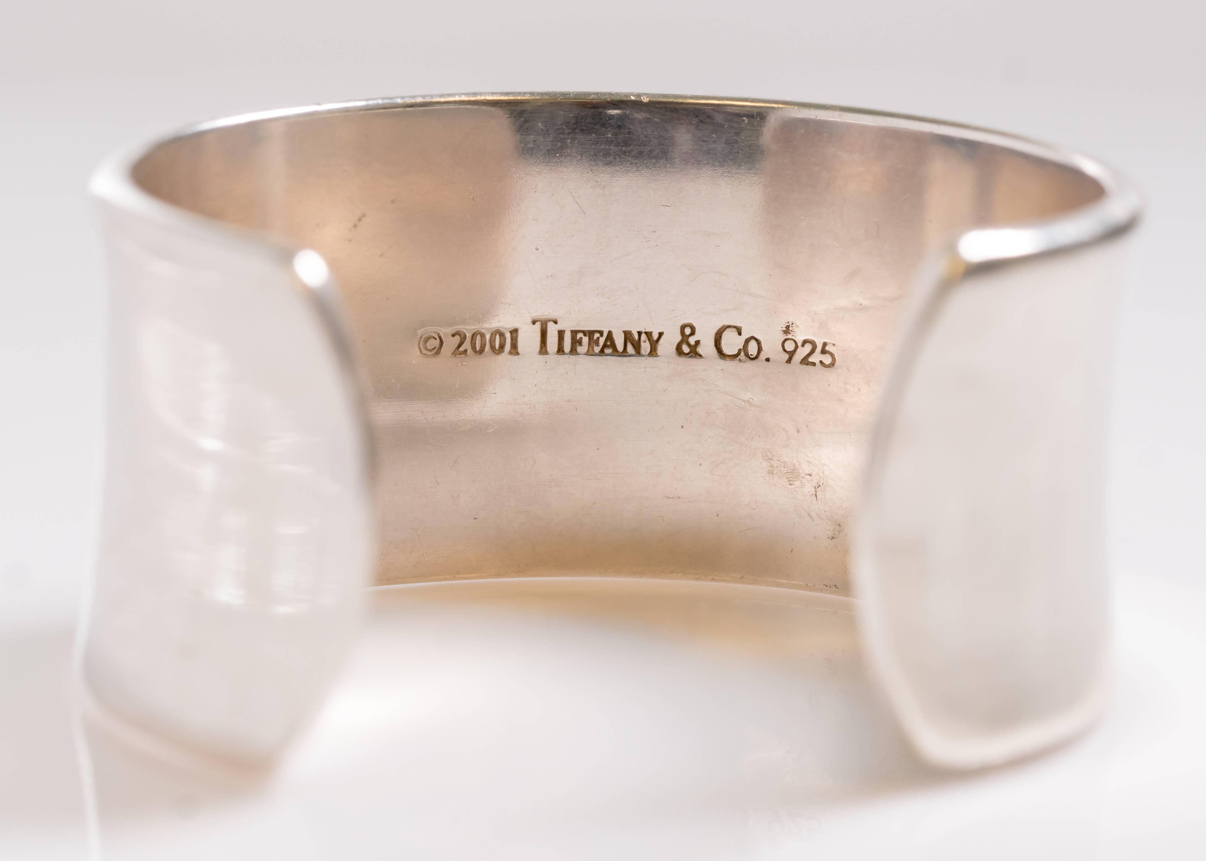 ac0b935e47d0d Tiffany & Co. 1837 Collection Sterling Silver Cuff Bracelet