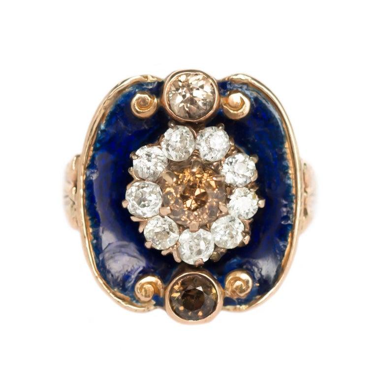 .45 Carat Yellow Gold Diamond Engagement Ring