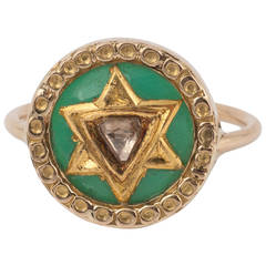Polki Star Ring