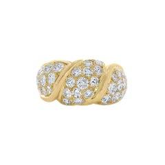 Van Cleef & Arpels Brilliant Cut Diamond Ring