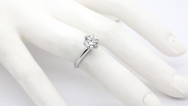 FERRUCCI GIA Certified 1.50 Carat D color VVS2 Diamond Ring For Sale 5
