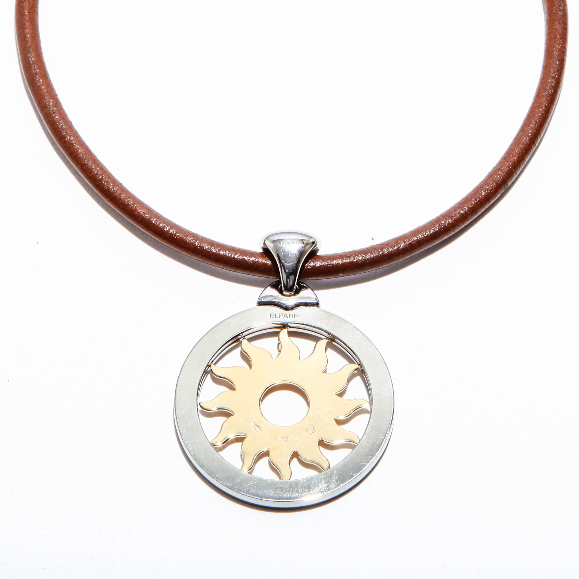 necklace sun products fade inca yellow starzinsky