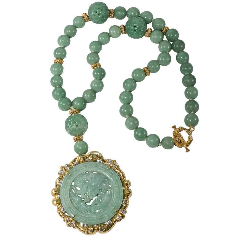 Jade Necklace For Sale