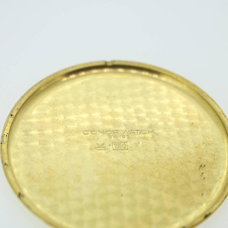 Yellow Gold Tiffany and Co Pocket Watch In Excellent Condition For Sale In Birmingham, AL