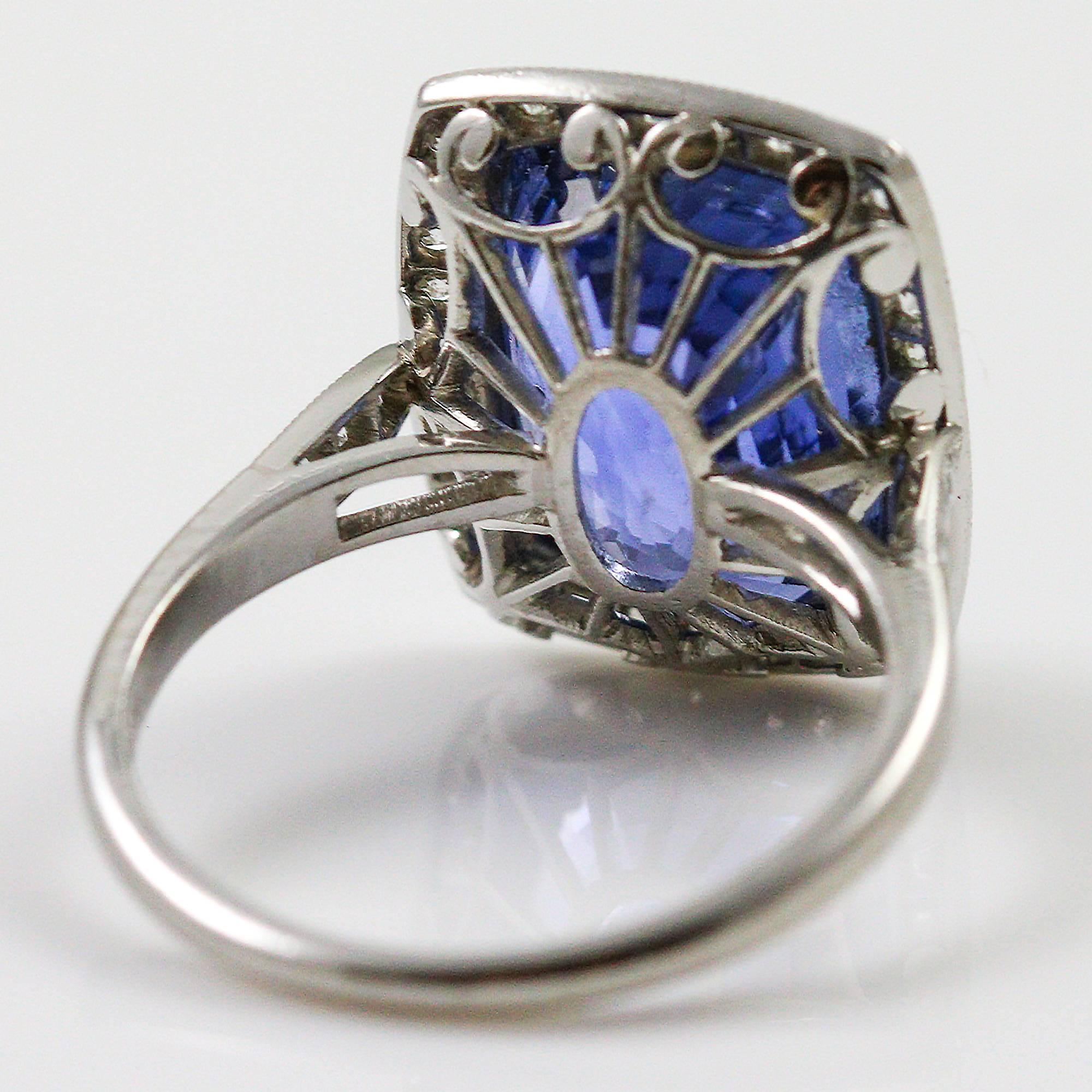 ring ii custom untreated cushion cut more rings platinum pink ct views archive sapphire natural