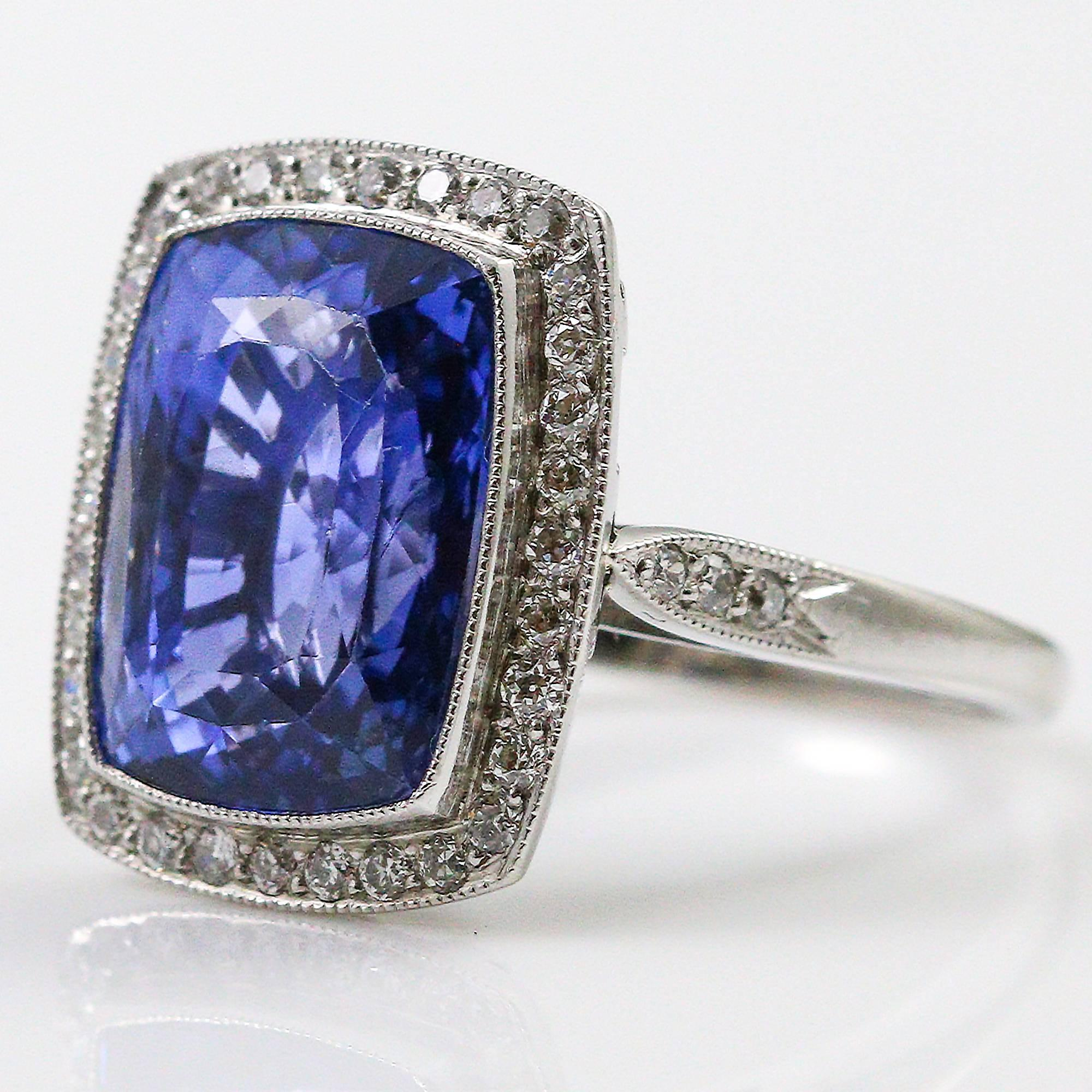 blue ceylon cut sapphire untreated engagement views custom cushion more ct ring