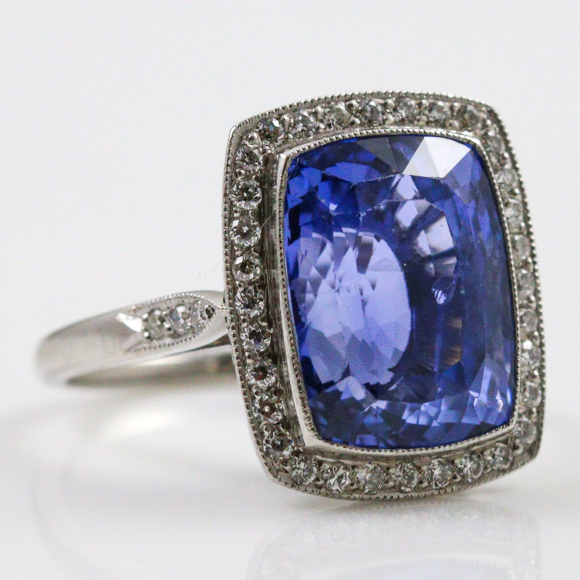 untreated oval cut views gia more sapphire platinum blue ring ct diamond