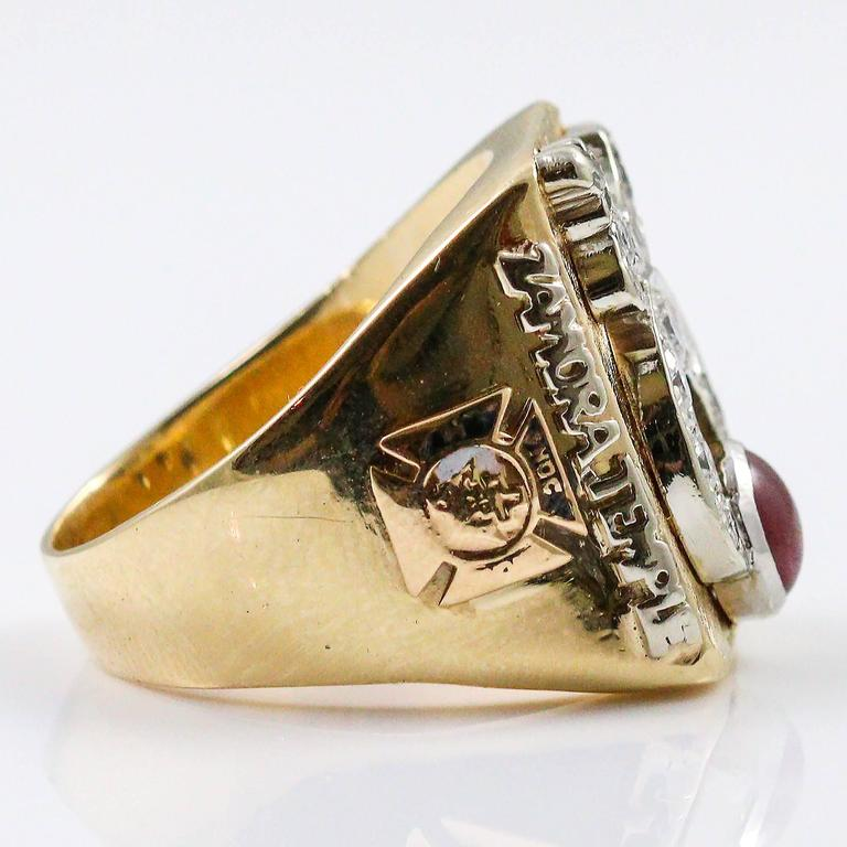 Shriner Potentate Ring