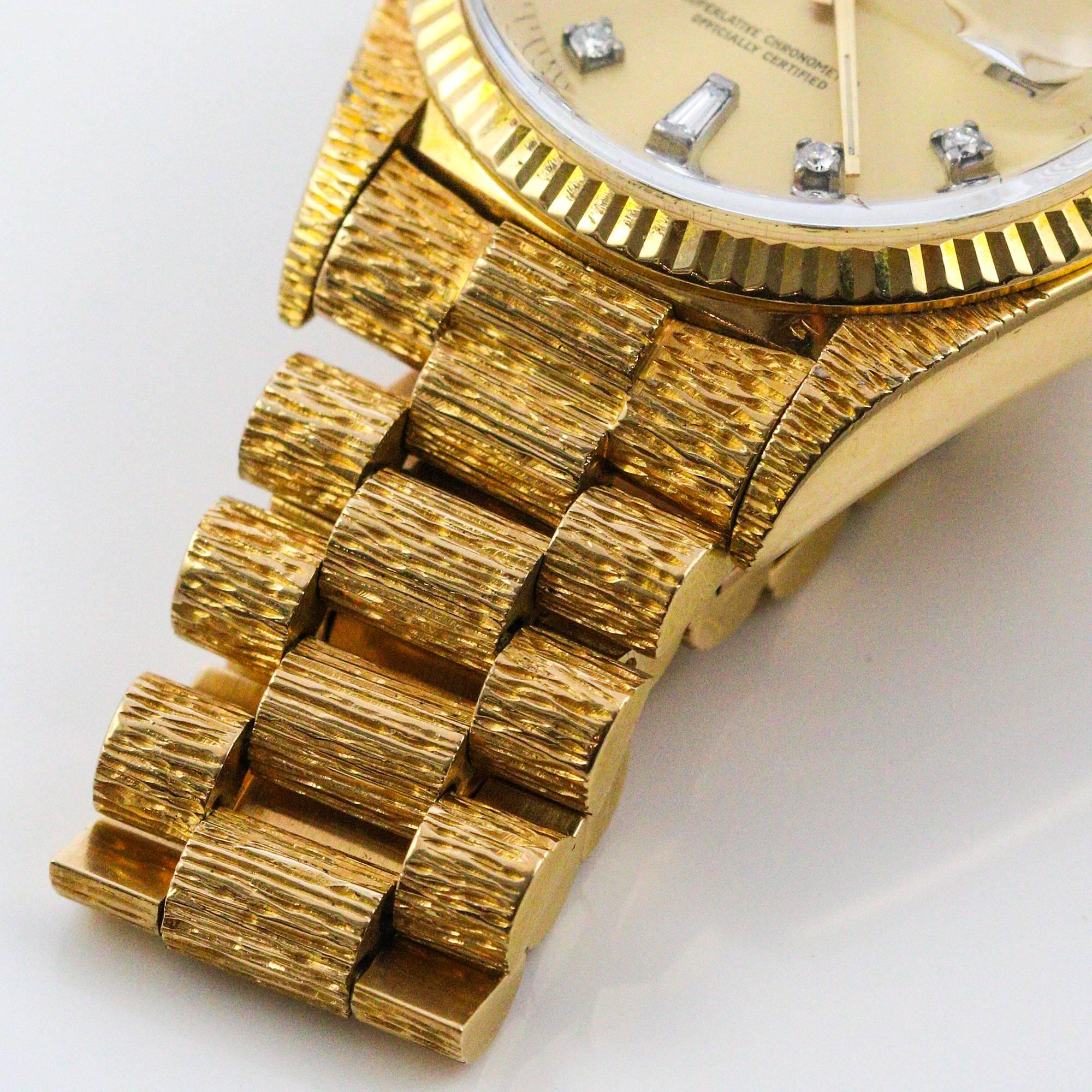 product president lemon img rolex date yellow dial day presidential factory watches diamond gold bezel