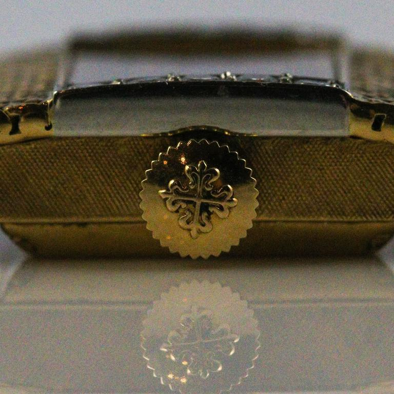 Patek Philippe and Tiffany & Co. Ladies Yellow Gold Diamond Wristwatch 2