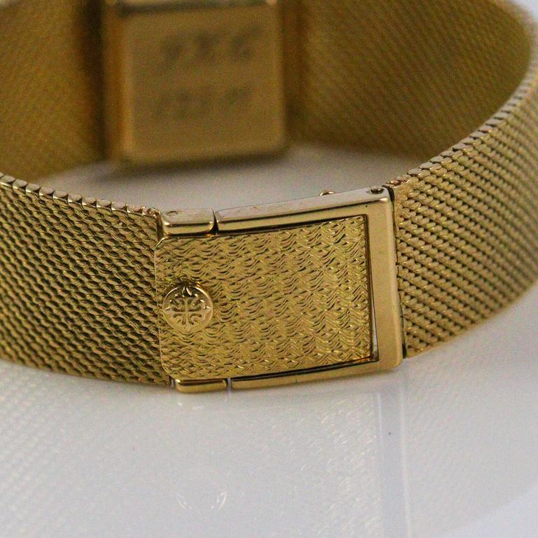 Patek Philippe and Tiffany & Co. Ladies Yellow Gold Diamond Wristwatch 3