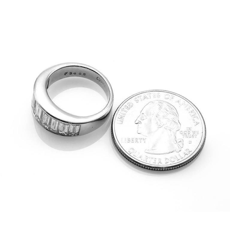 christopher designs crisscut band platinum ring