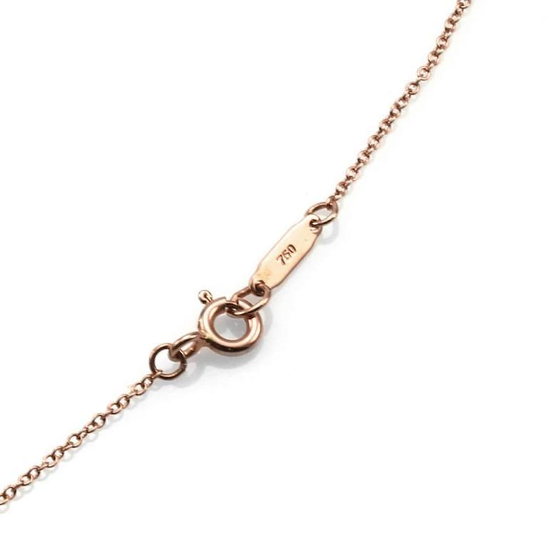 Tiffany & Co. Return to Tiffany Micro-Pavé Diamonds Heart Tag Necklace 3