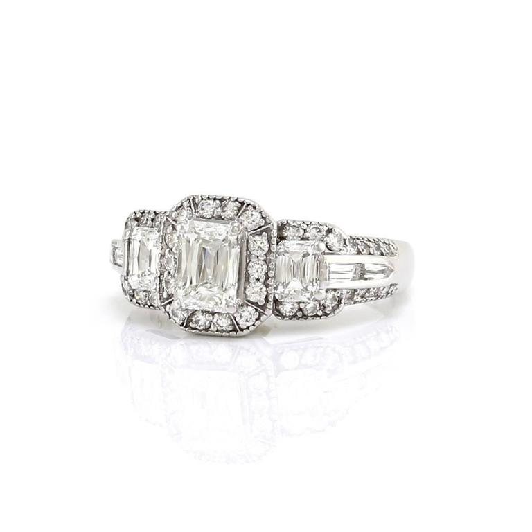 christopher designs crisscut engagement ring with