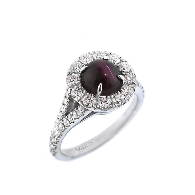 Rare Brazilian Alexandrite Cat S Eye Diamond Gold Ring At