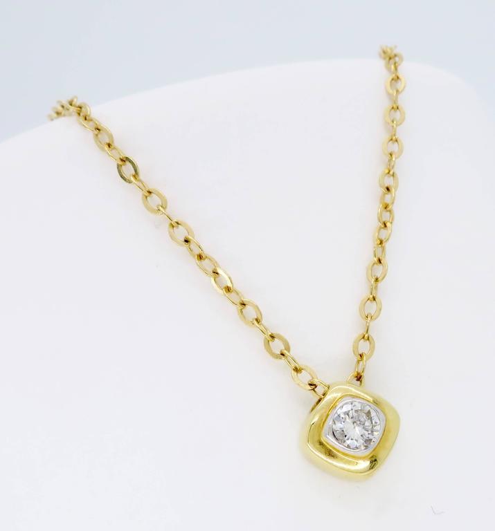 dainty diamond necklace at 1stdibs. Black Bedroom Furniture Sets. Home Design Ideas