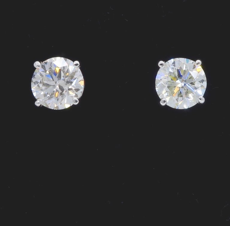 1 carat stud earrings sale 1 80 carat stud earrings for sale at 1stdibs 6492
