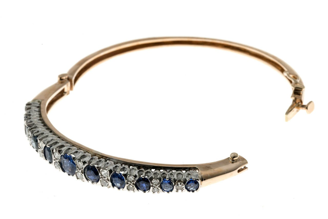Natural Sapphire Diamond Gold Bangle Bracelet For Sale At. Leaf Chains. Rope Engagement Rings. Gold Bangle With Circles. Elastic Bracelet. Engagement And Wedding Band. Moissanite Earrings. Chocolate Diamond Engagement Rings. Hebrew Necklace