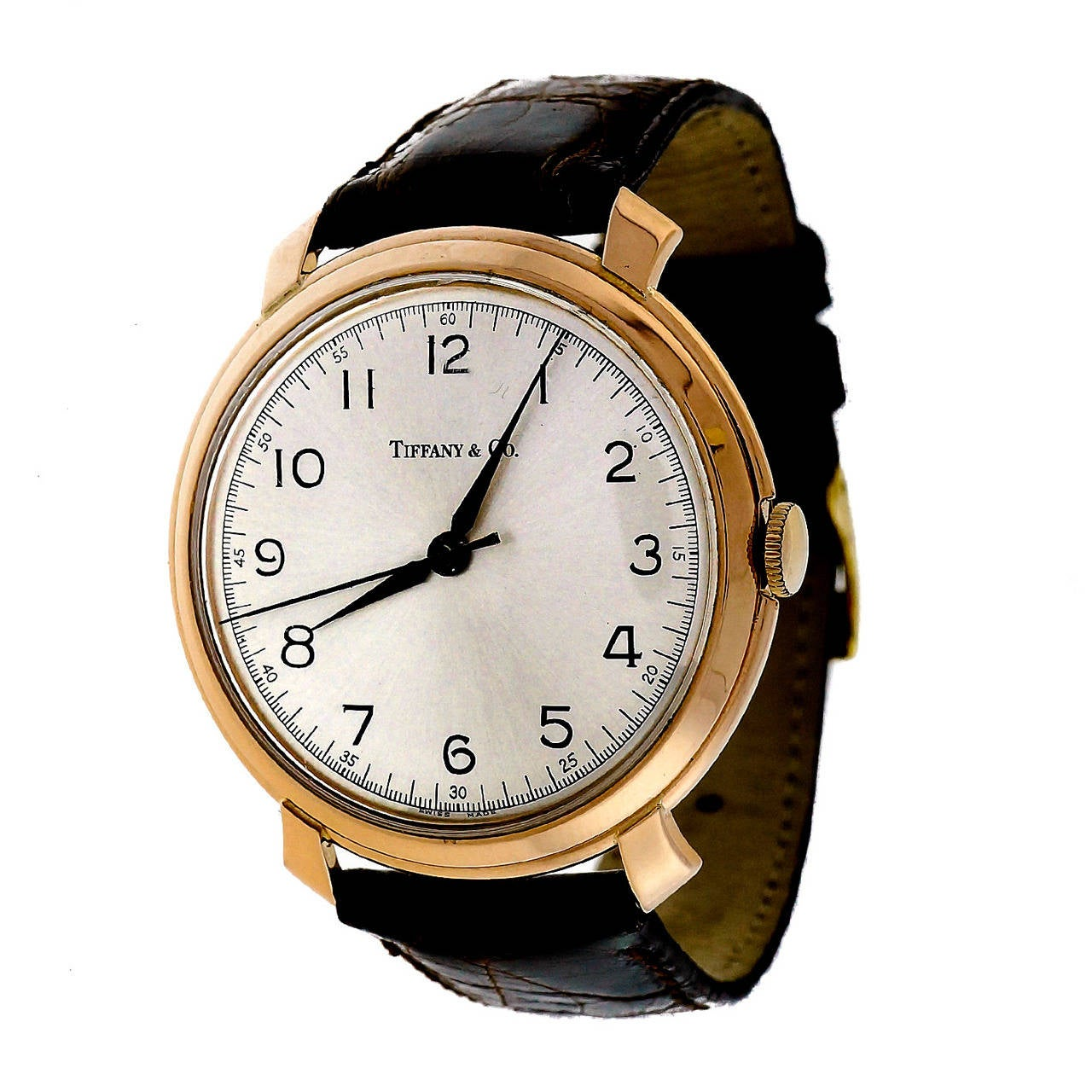 IWC Rose Gold Wristwatch Retailed by Tiffany & Co. 1