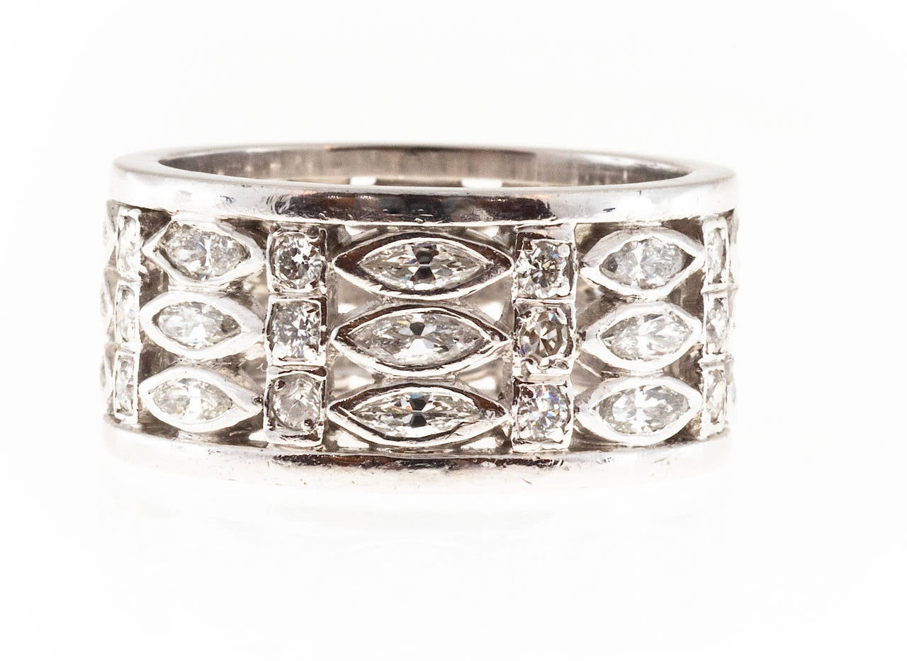 eternity our bands band of with just openwork pin a wide few intricate diamond