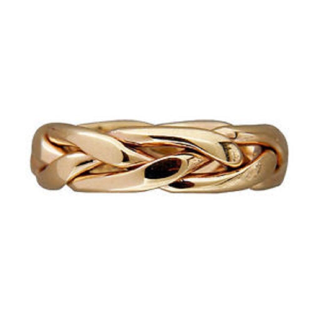 Row C Gold Ring
