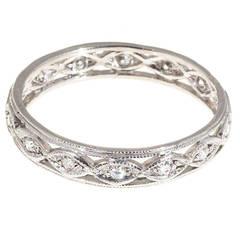Diamond Platinum Eternity Ring