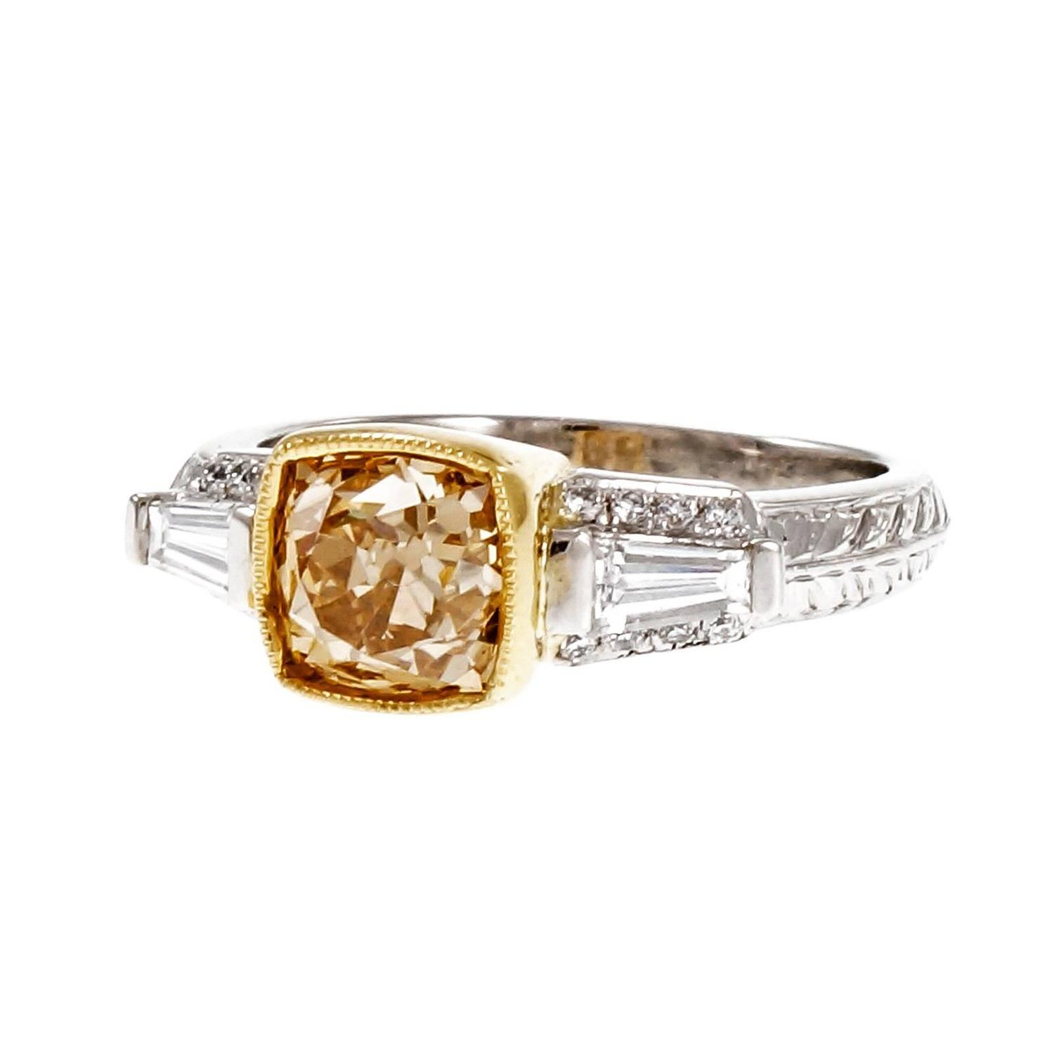 gold vs platinum Charles koll jewelers offers custom engagement rings in gold and platinum find out the difference from san diego's custom jewelry experts.