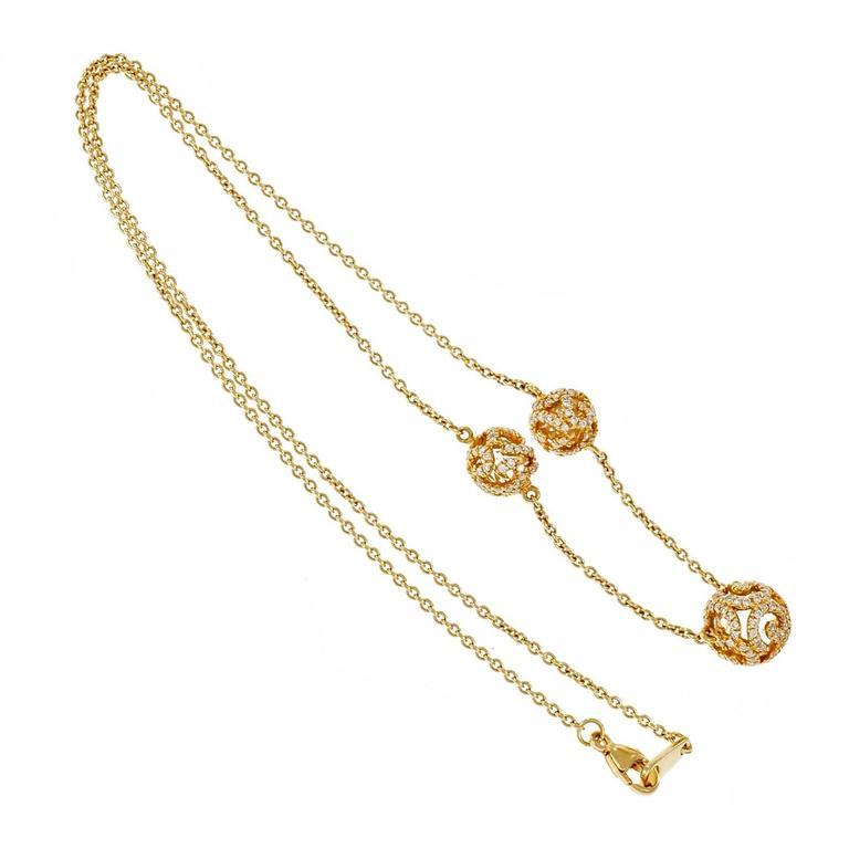 JMP Quartz Rock Crystal Diamond Gold Crystal Ball Necklace