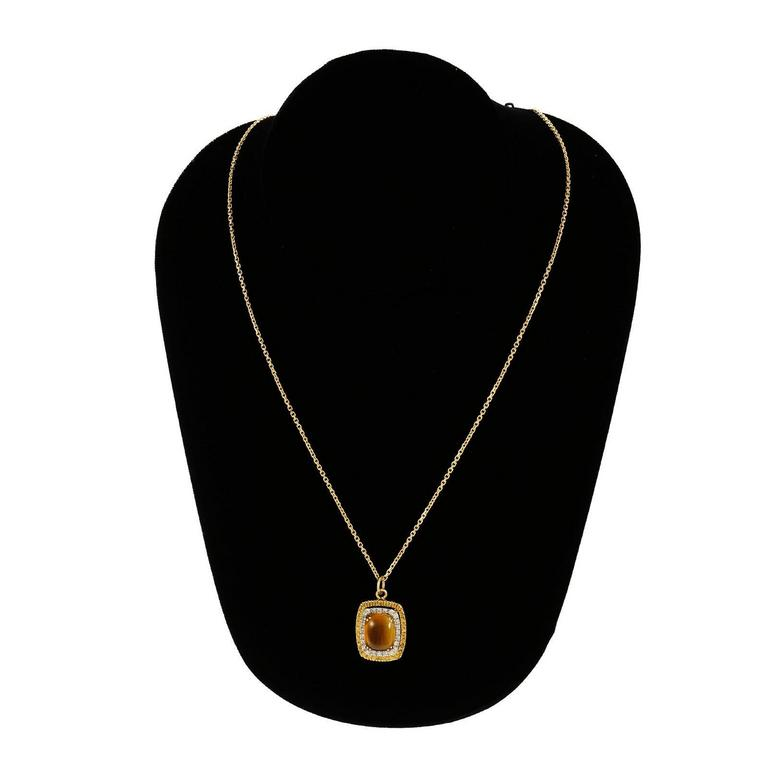 yellow sapphire necklace - photo #45
