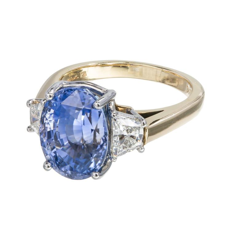 Oval Sapphire  Stone Rings