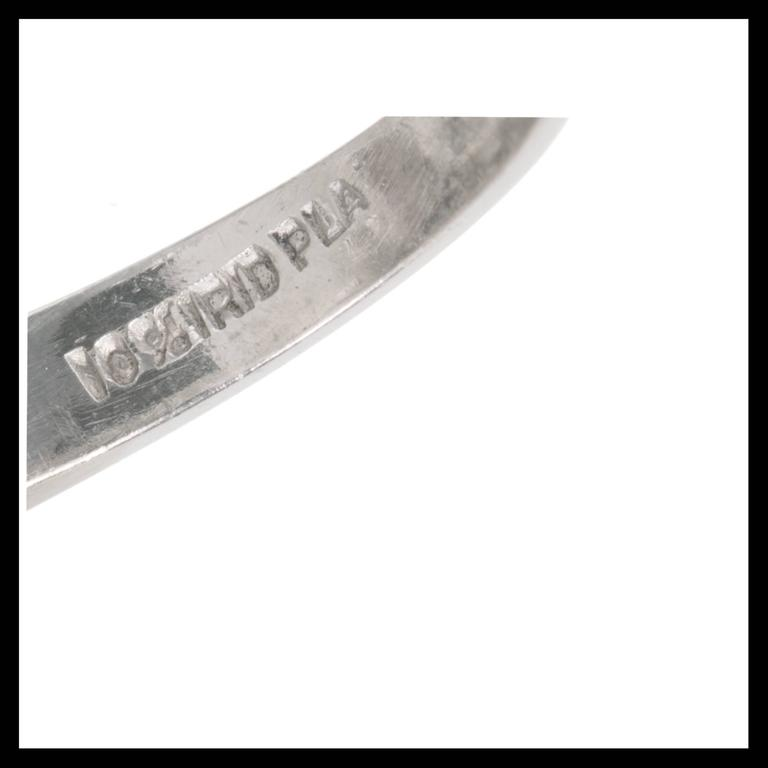 1.13 Carat Palais Ruby Diamond Ringdant Platinum Pendant Ring 7